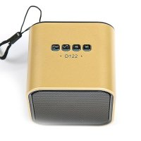 Колонка Bluetooth YPS-D122 Gold - фото